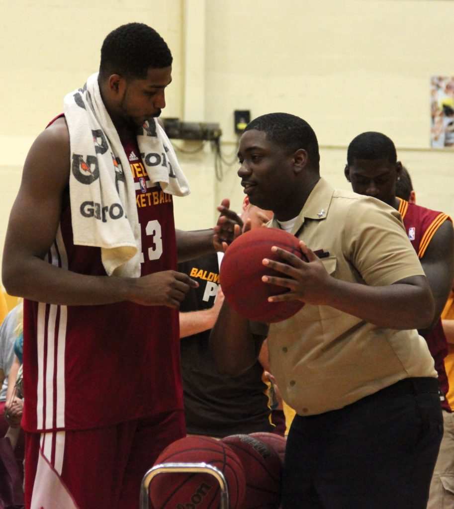 The Cleveland Cavaliers Honor the Armed Forces at the Wine & Gold Scrimmage - Quicken Loans Zing Blog