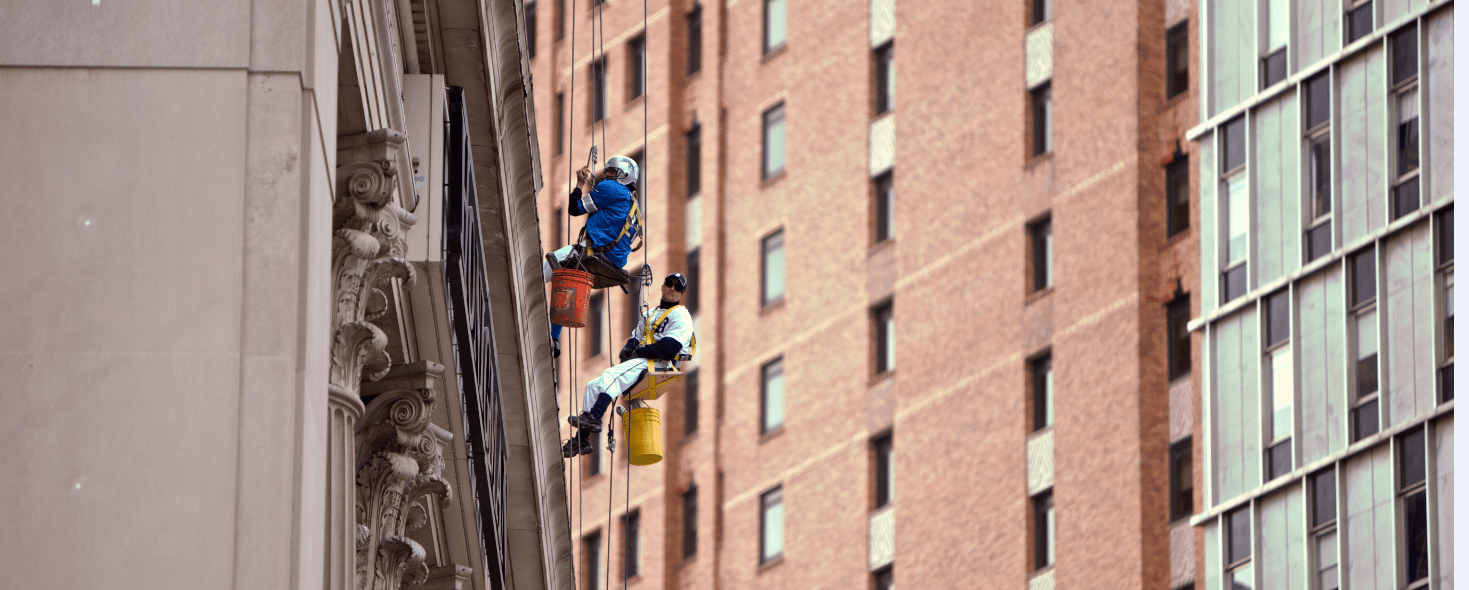 Cleaning Windows in Detroit - Halloween Style - Quicken Loans Zing Blog