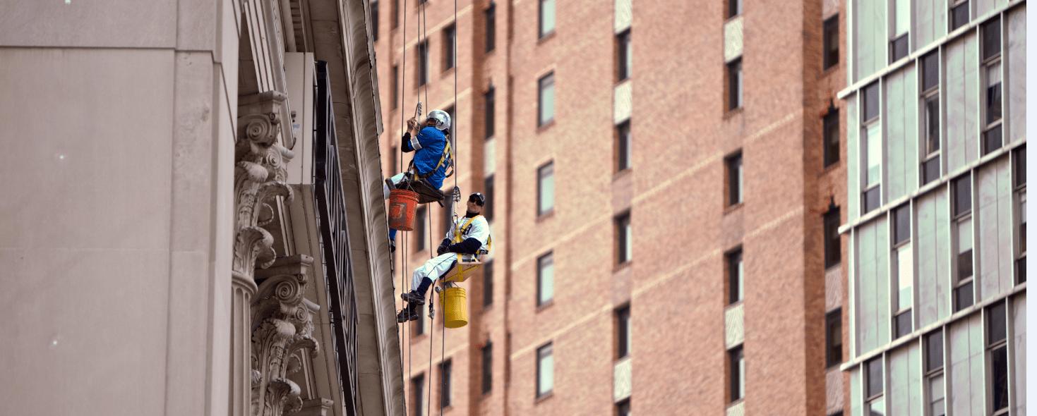 Cleaning Windows in Detroit - Halloween Style - Quicken Loans Zing Blog