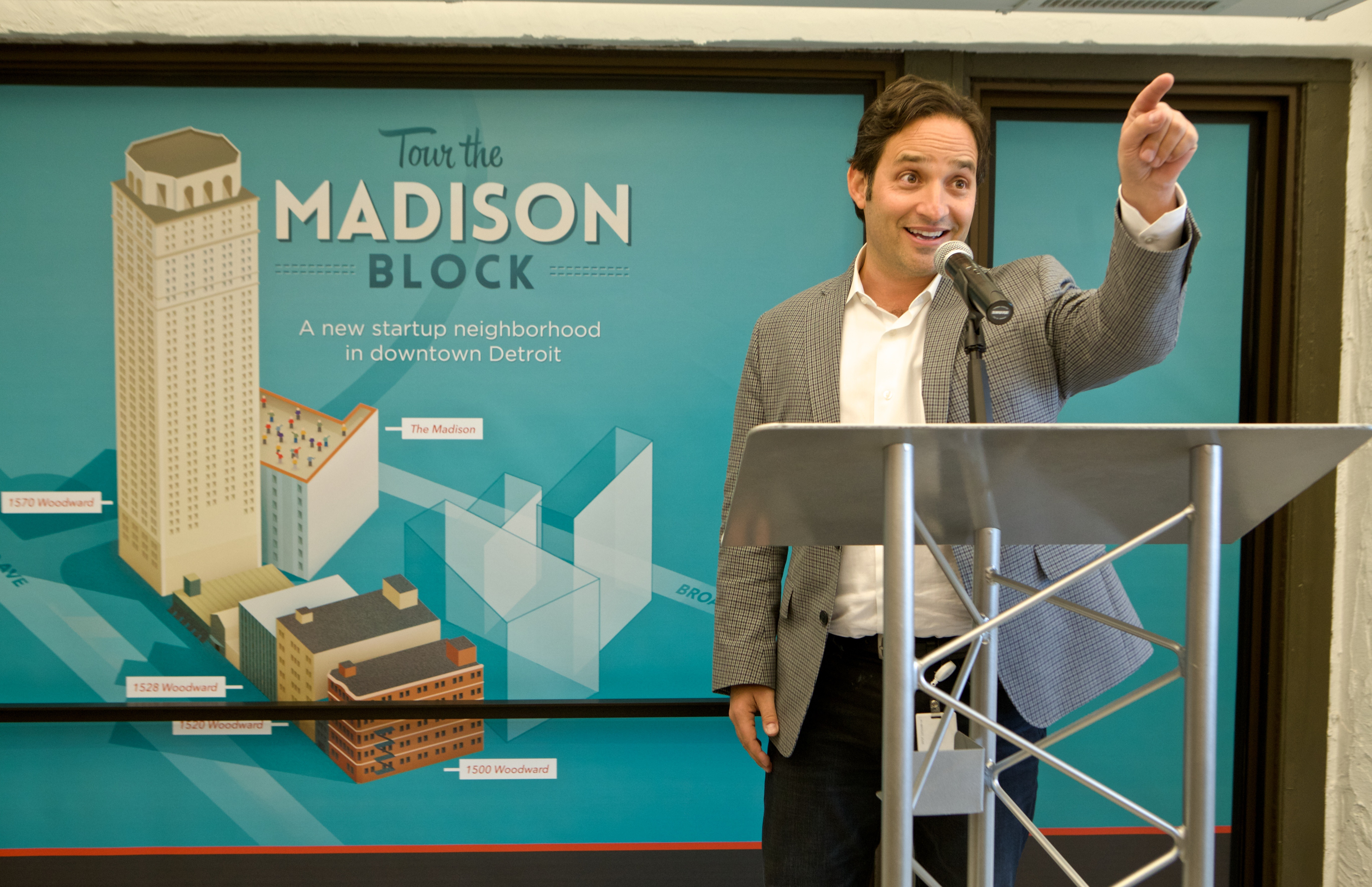 Grand Circus and Google Featured in the Unveiling of The M@dison Block - Quicken Loans Zing Blog