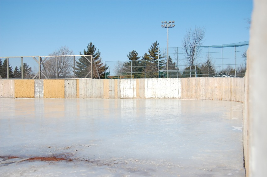 how to build an ice rink in your yard zing blog by quicken loans