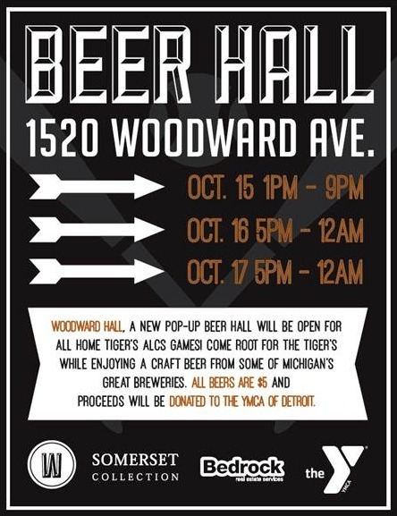 Woodward Beer Hall - Quicken Loans Zing Blog