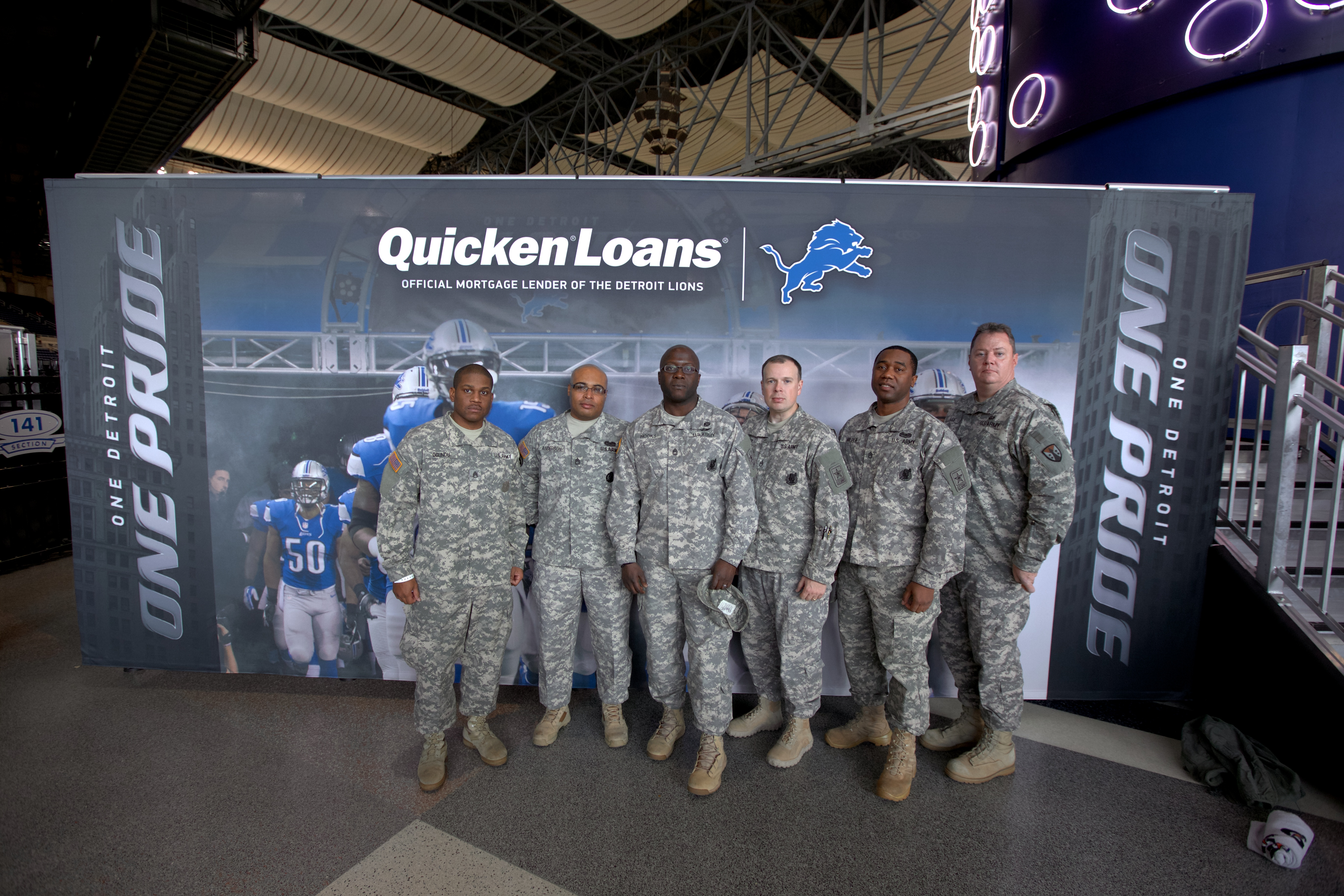 Loans For Veterans >> Quicken Loans And The Detroit Lions Come Together To Honor