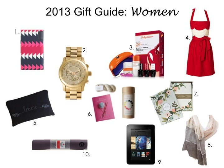 womens christmas gift ideas 2013
