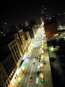Woodward Avenue During the Holidays - Quicken Loans Zing Blog