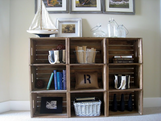 Lastest Ideas About Milk Crate Shelves On Pinterest  Crate Furniture Crate