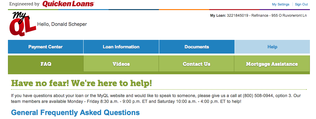 New MyQL Features that Work for You - Quicken Loans Zing Blog