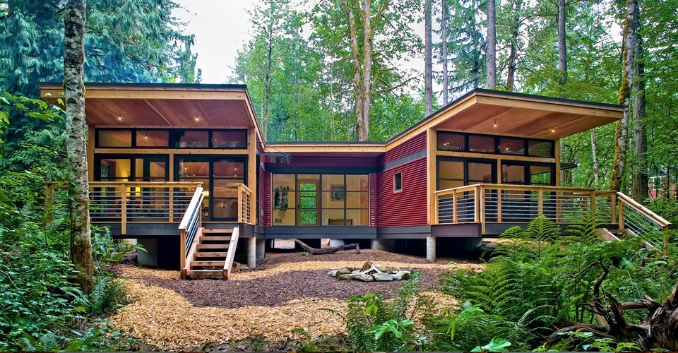 Awesome modern modular home designs zing blog by quicken for Modern cabin plans for sale