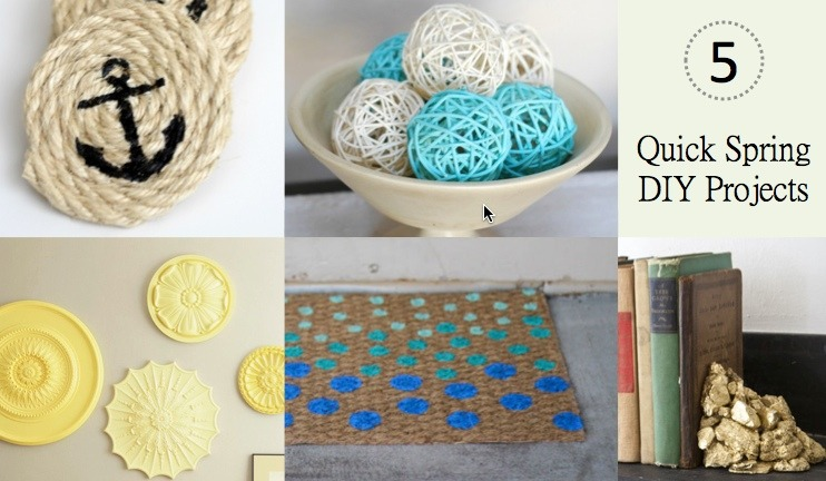 DIYHome Decor · Quick Spring DIY Projects   Quicken Loans Zing Blog