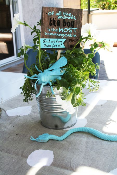 Unique baby shower theme ideas zing blog by quicken for Baby shower decoration ideas blog
