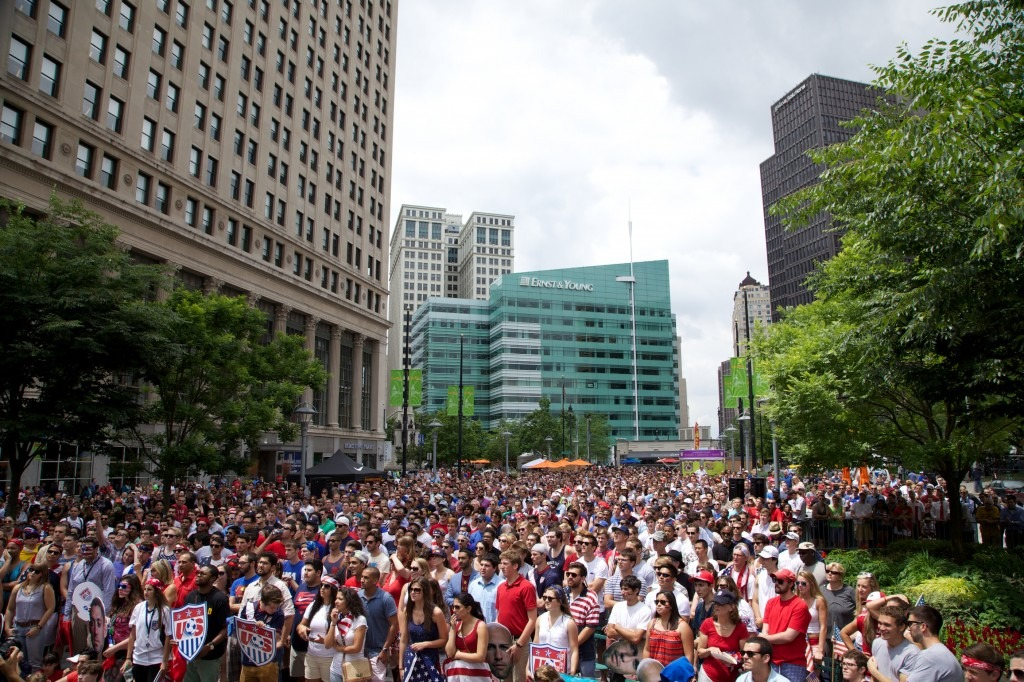 USA vs. Belgium World Cup Viewing Party: Detroit - Quicken Loans Zing Blog