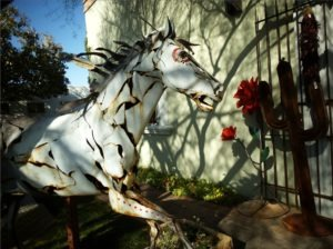 Southwestern Metal Art Sculpture - Quicken Loans Zing Blog