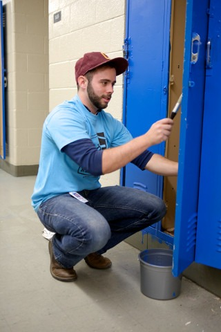 Quicken Loans Team Members Help Remodel Local Detroit School - Quicken Loans Zing Blog
