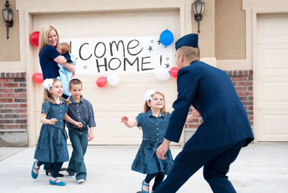 The Best Military Home Comings