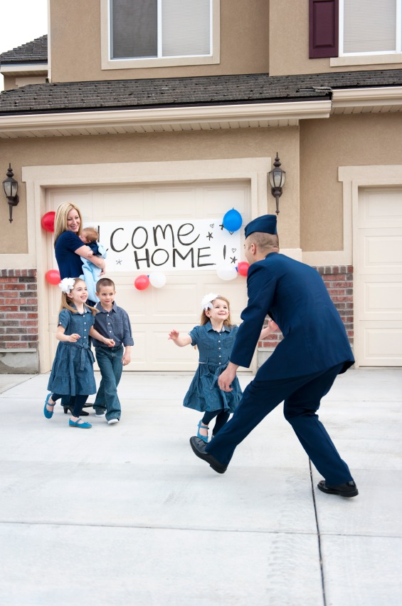 The Best Military Homecomings - Quicken Loans Zing Blog