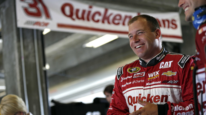 Newman's Chase For The Sprint Cup Comes Up Just Short