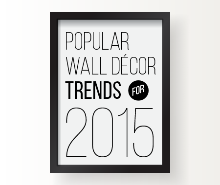 5 Eye-Catching Wall Decor Trends