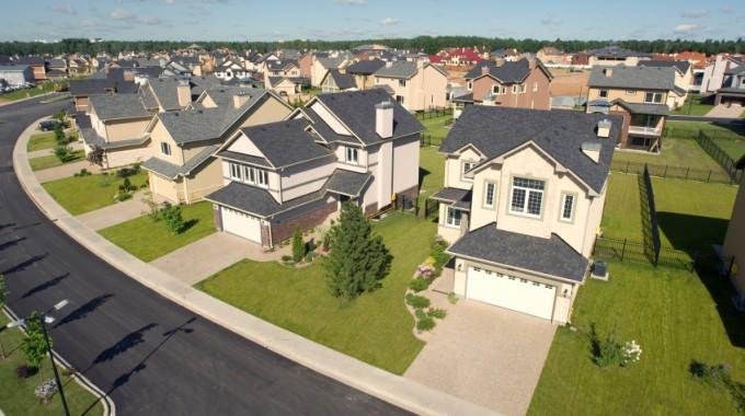 suburban neighborhood