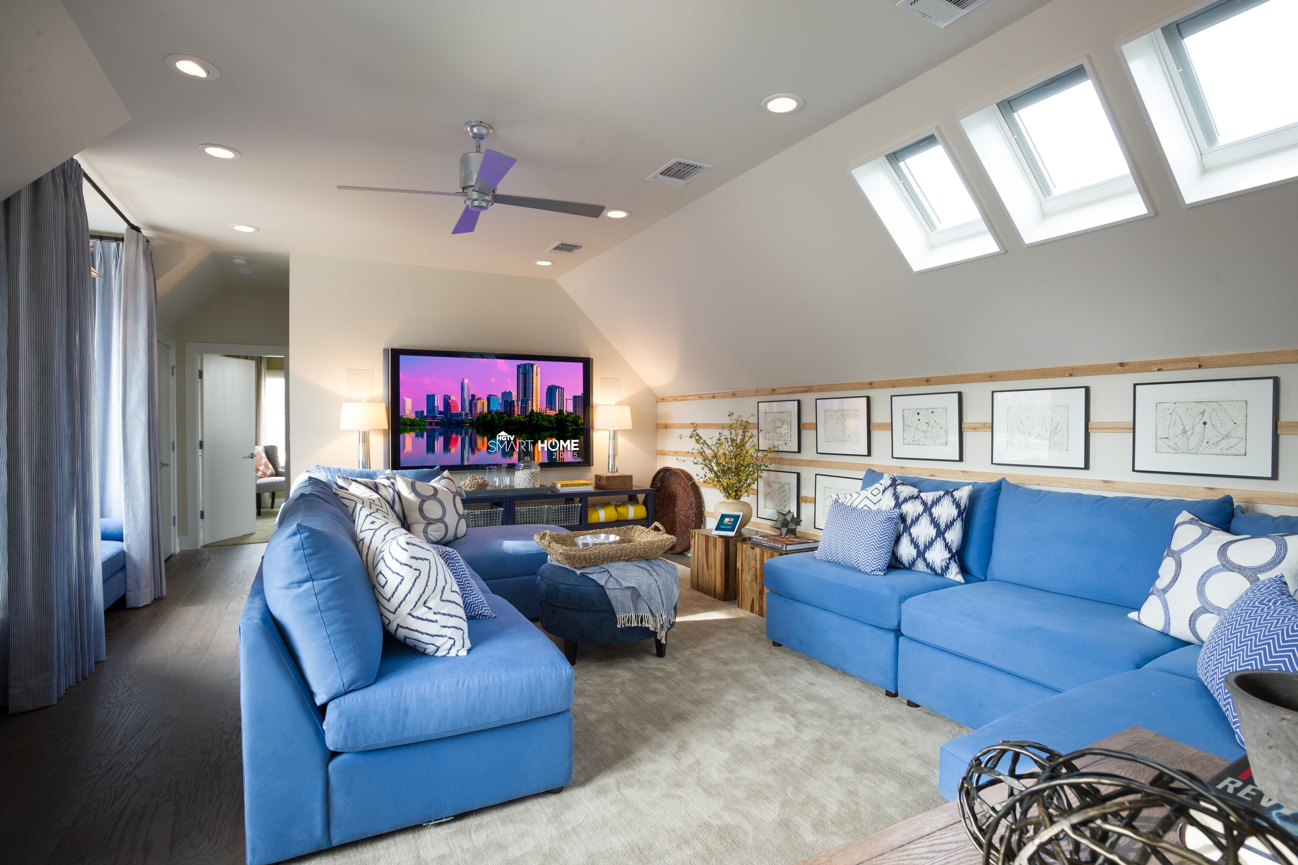 Quicken Loans Zing Blog Loft Of Hgtv Smart Home 2015 In Austin Texas