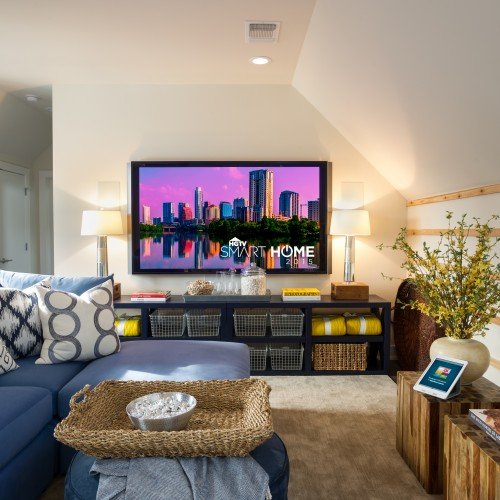 2015 Smart Home Living Room