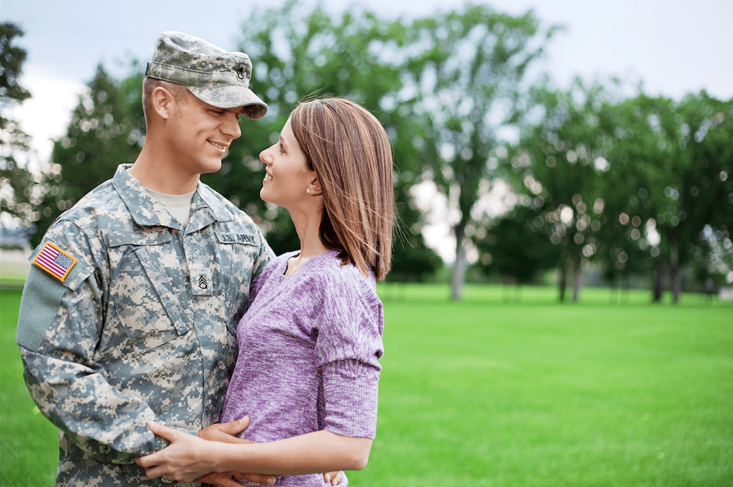 Questions about divorce papers (husband is military)?