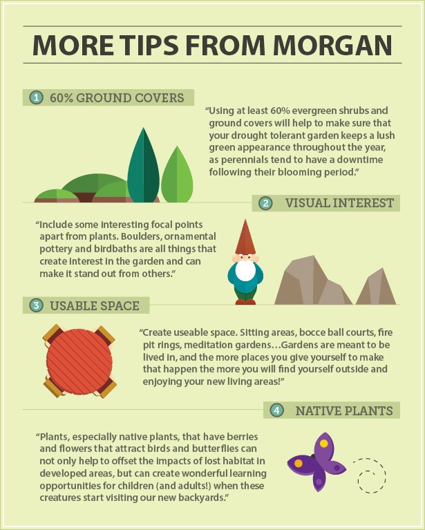 Additional Xeriscaping tips