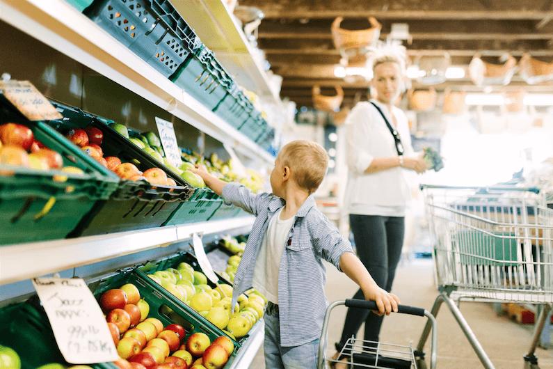 supermarket phone shopping