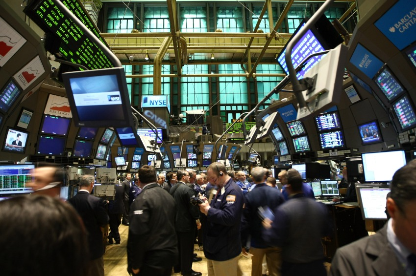 New York Stock Exchange Floor