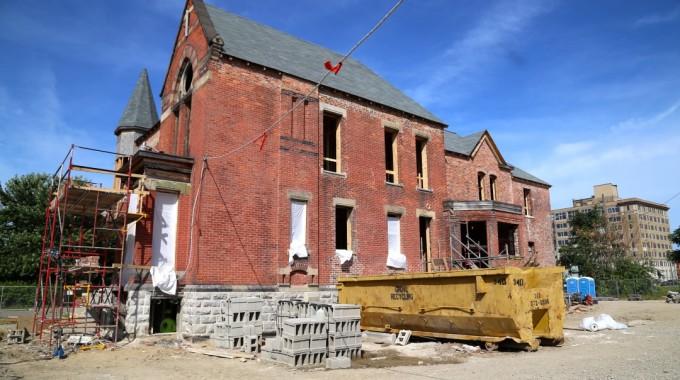 HGTV Star, Nicole Curtis Begins Renovation On Detroit's Ransom Gillis Mansion