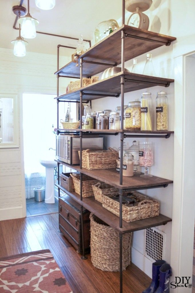 Kitchen Storage On Open Shelving: Top Kitchen Renovation Trends