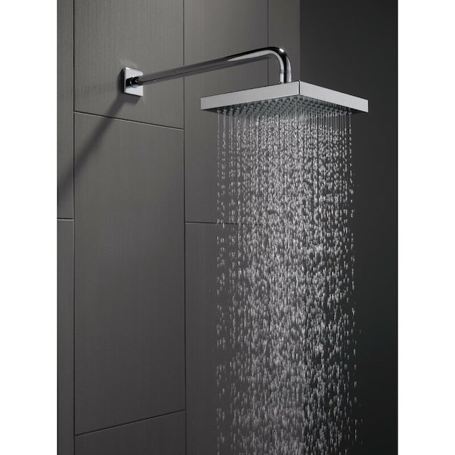 Rain shower head product image.