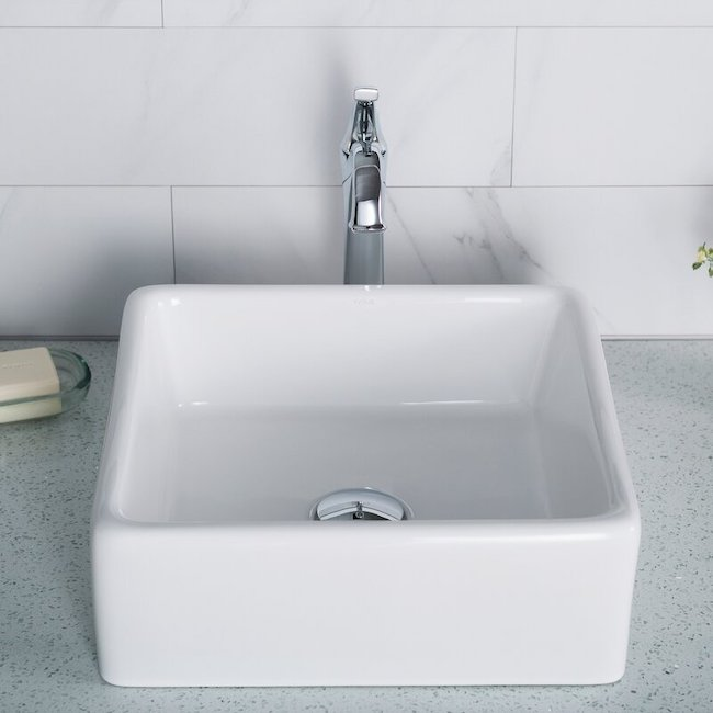 Square sink product image