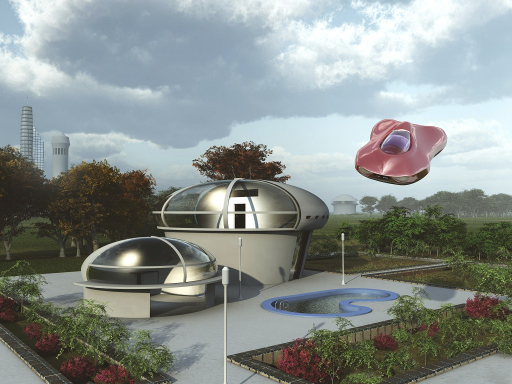 Back to the Future: Futuristic Homes of 2015 - Quicken Loans Zing Blog