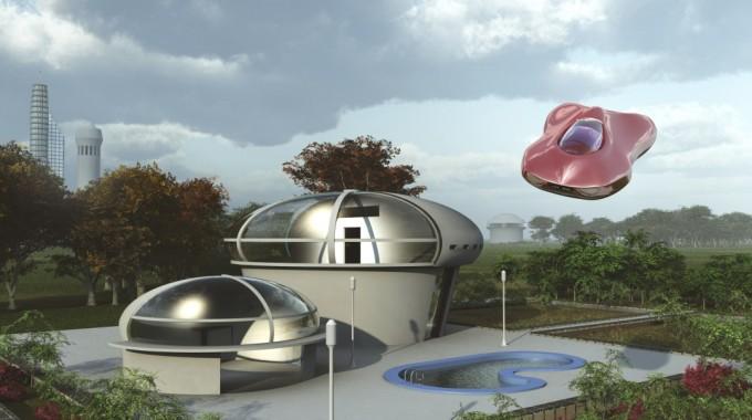 Back To The Future: Futuristic Homes Of 2015