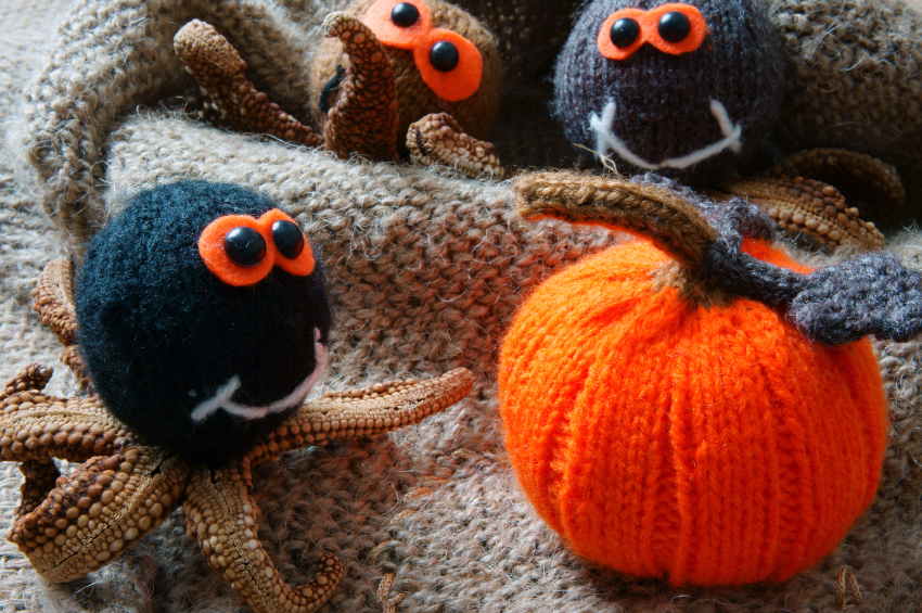 Fall Knitted Crafts