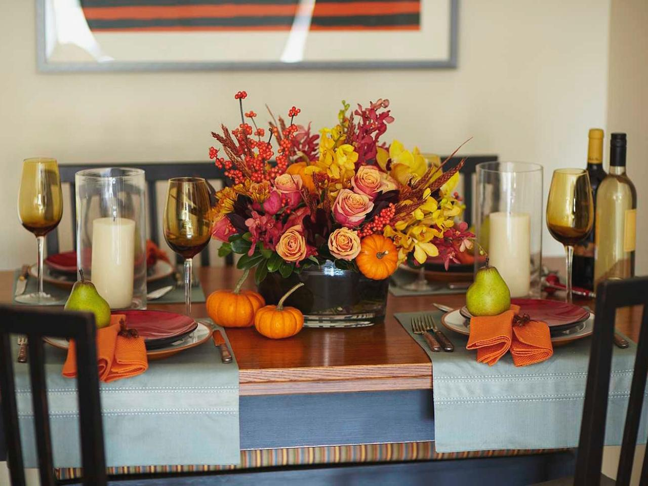Thanksgiving Home Decorations Ideas Part - 25: Unique Ideas To Up Your Hosting Game This Thanksgiving - ZING Blog By  Quicken Loans | ZING Blog By Quicken Loans