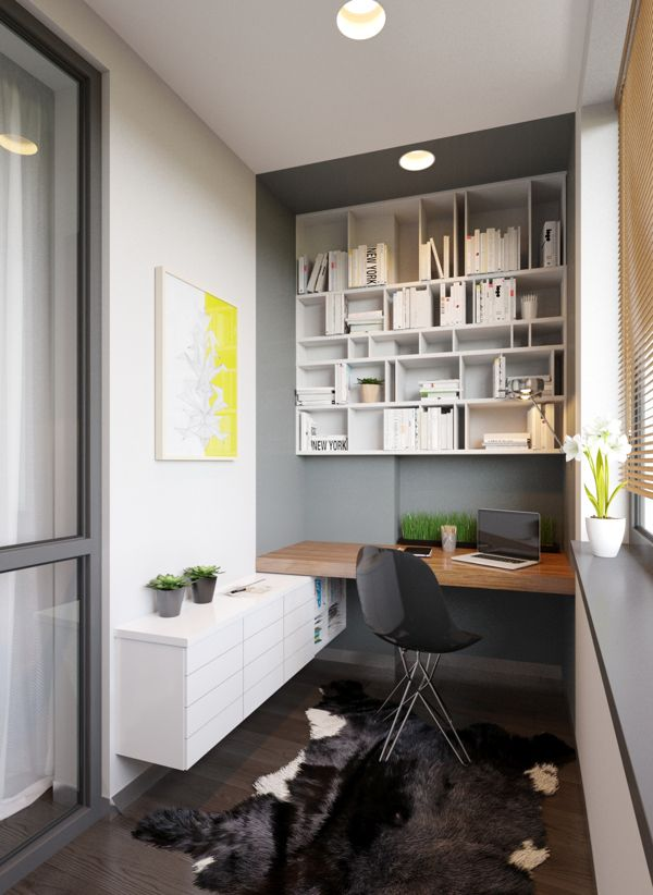 gray_ decoholicorg - Home Office Cabinet Design Ideas