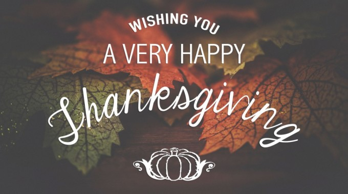 Happy Thanksgiving From The Zing Blog To You