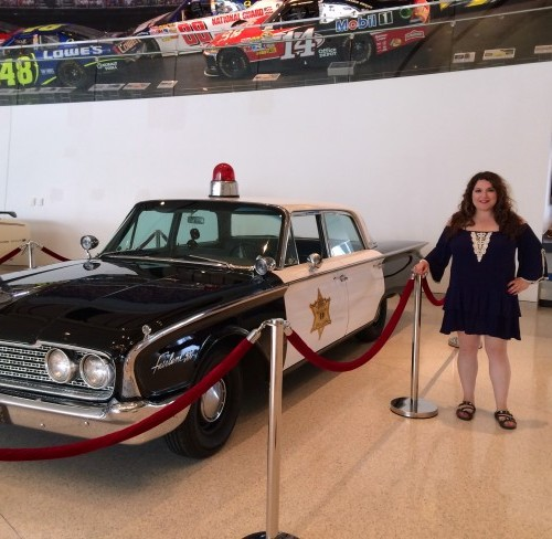Mayberry Car At The NASCAR Hall Of Fame – Quicken Loans Zing Blog
