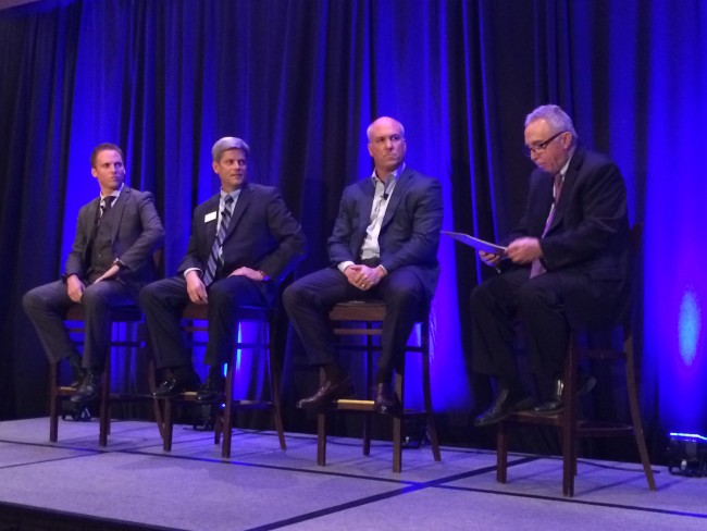 Panel (l-r) Michael Rosenberg, Jim Proppe, Bill Emerson, Tom Walsh - Quicken Loans Zing Blog