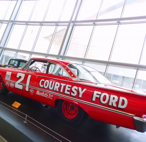 Classic Race Car At NASCAR Hall Of Fame – Quicken Loans Zing Blog