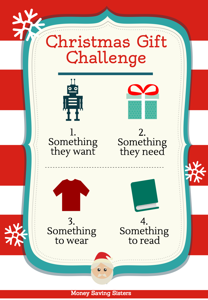 Christmas Challenge.Four Gifts For Christmas Challenge Back To Basics Zing