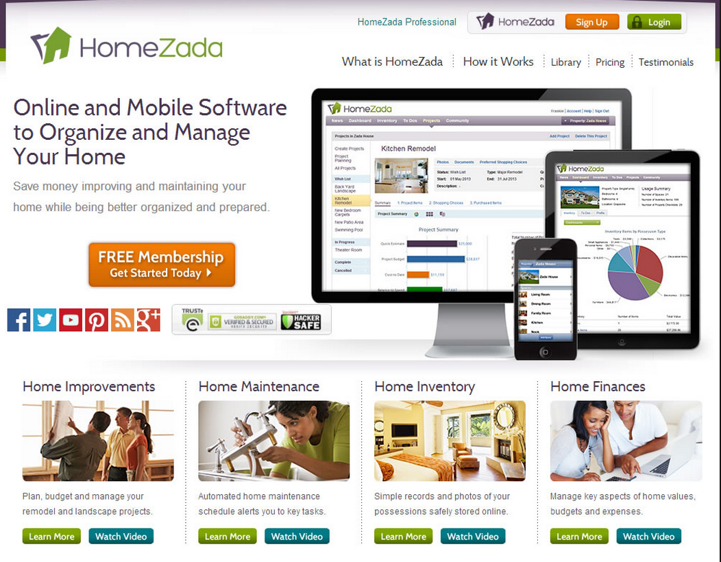 HomeZada Cover Pic