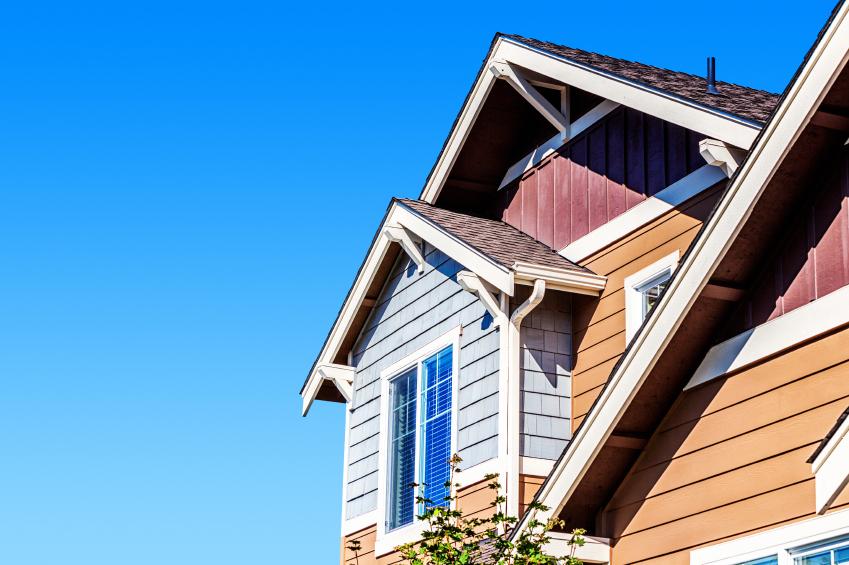 close-up of a wondow on a house