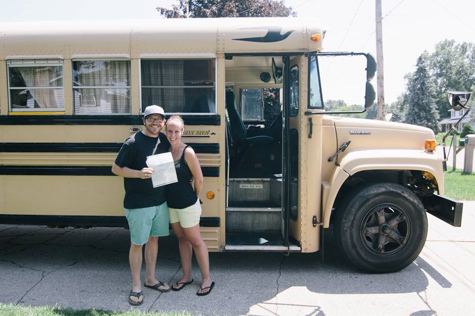 Unique Places to Call Home: A Big Yellow School Bus - Quicken Loans Zing Blog