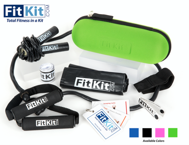 FitKit Green with Contents
