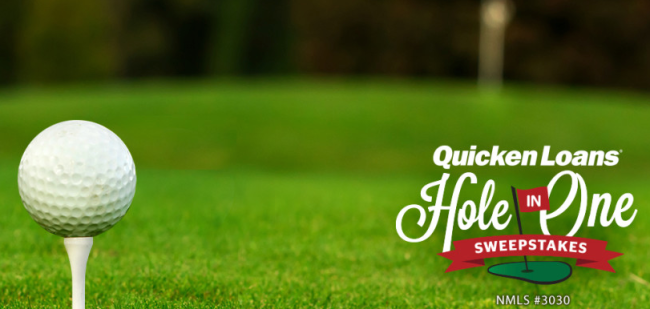 One Shot, One Mortgage-Free Year: The Quicken Loans Hole-In-One Sweepstakes Is Back!