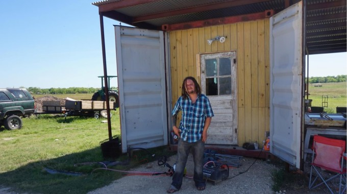 Unique Places To Call Home: A Shipping Container On A Texas Farm