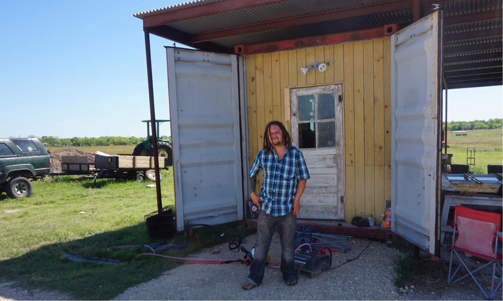 Unique Places to Call Home: A Shipping Container on a Texas Farm ...