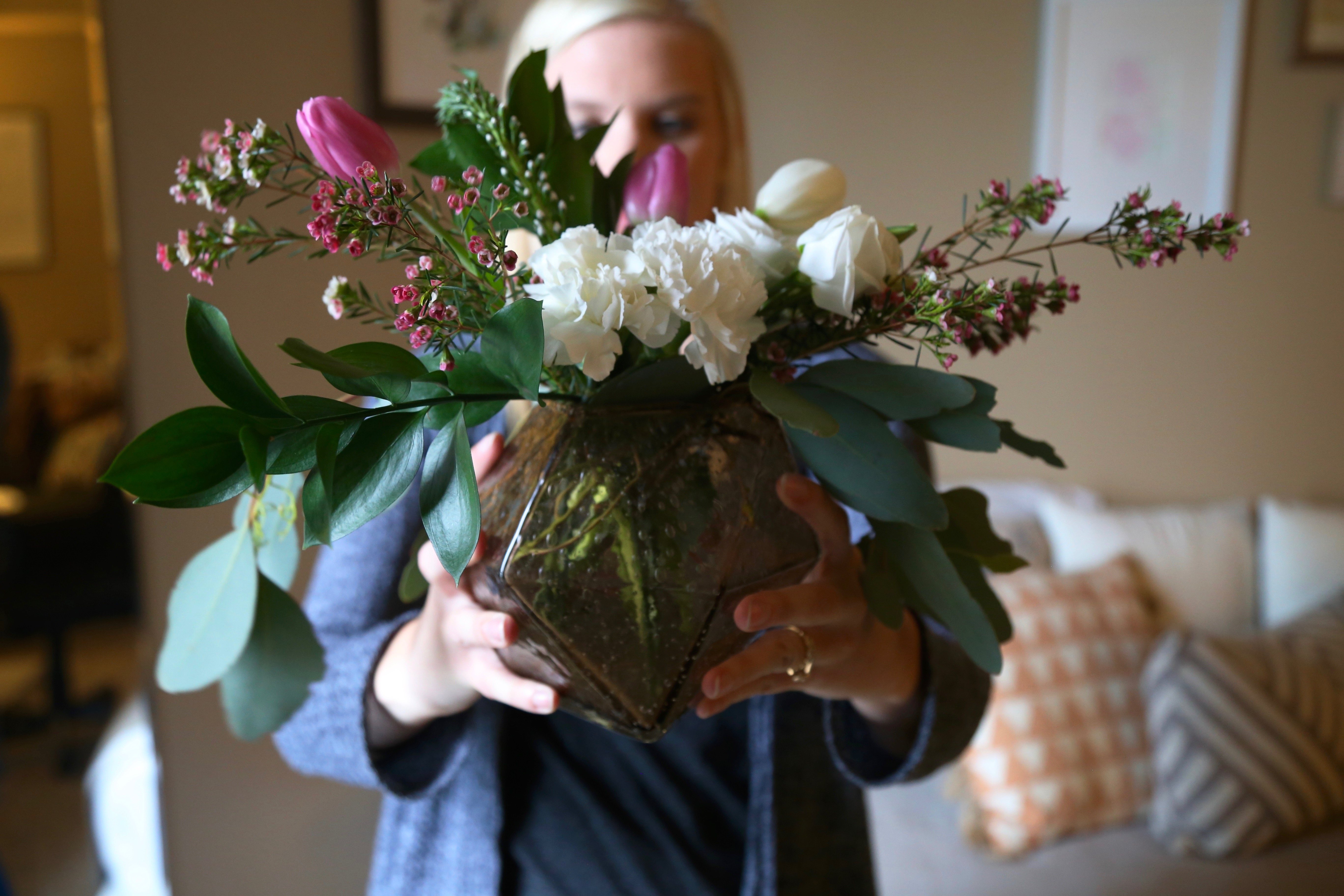 How To Turn A Grocery Store Bouquet Into A Floral Arrangement For